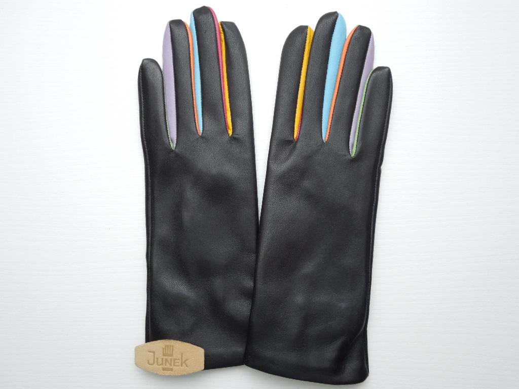 bc0ac0ee61c Dámské kožené rukavice 20110 černé