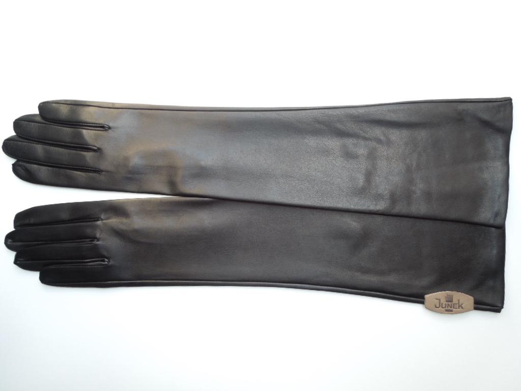 60ff9389996 Dámské kožené rukavice dlouhé společenské 2424